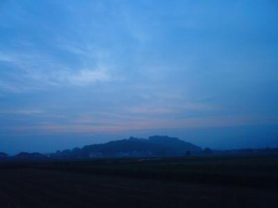 早朝ジョギング