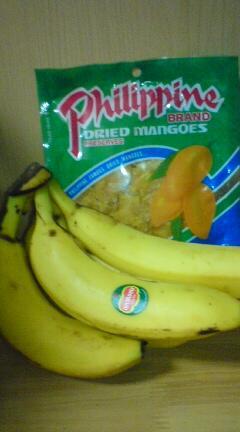 バナナとマンゴー