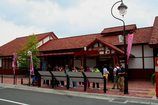 ⑬河口湖駅