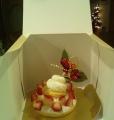 豪華なワンちゃん用ケーキです!