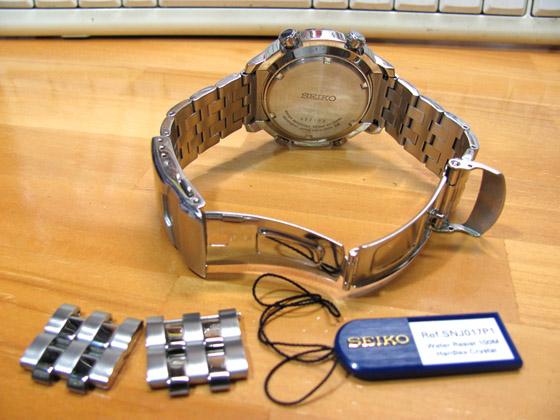 セイコー腕時計アナデジ