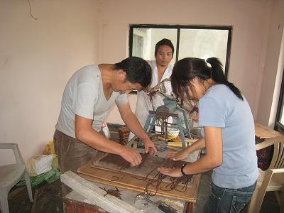 お香の製作2