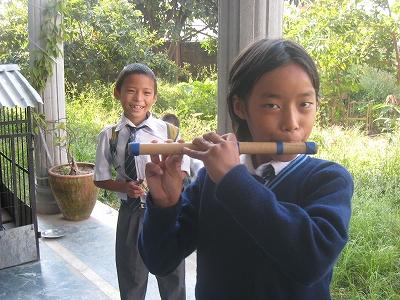 笛の練習1