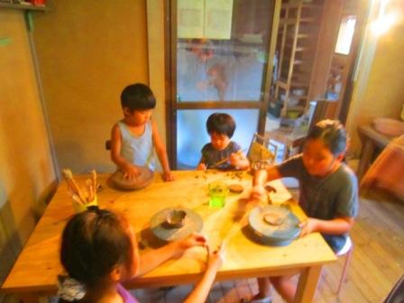 マリさんの陶芸教室