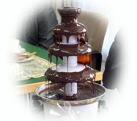 チョコレ-トファウンティン ON