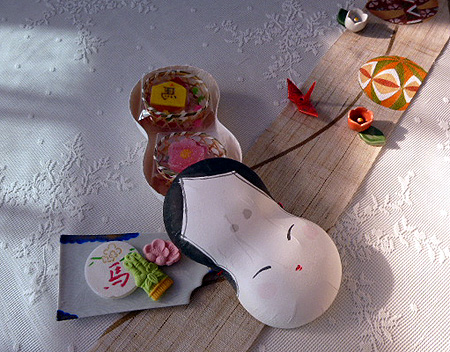お正月干菓子