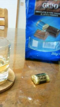 チョコとウイスキー