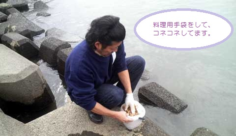 2_鯉のダンゴ作り
