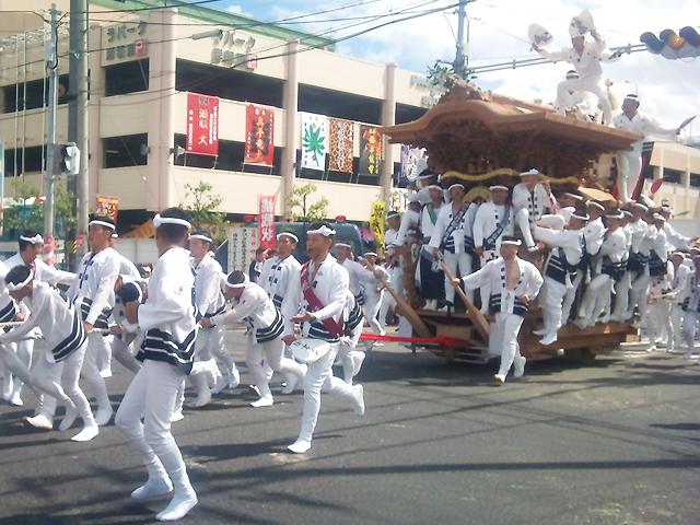 岸和田 だんじり 祭り
