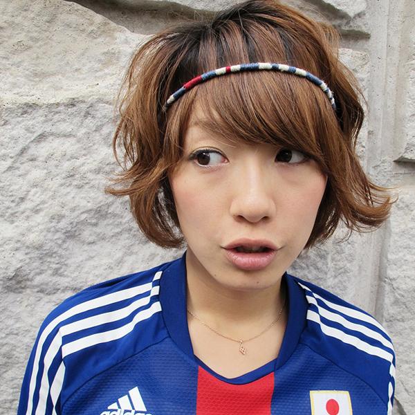 サッカー日本代表2012年ユニフォーム新モデル応援ミサンガとなでしこジャパン川澄奈穂美ヘアバンド!!