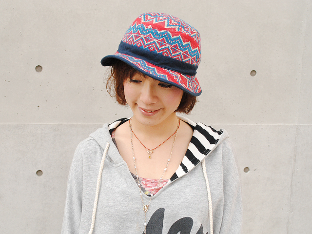 ficouture REVERSIBLE HAT 帽子 ハット フィクチュール