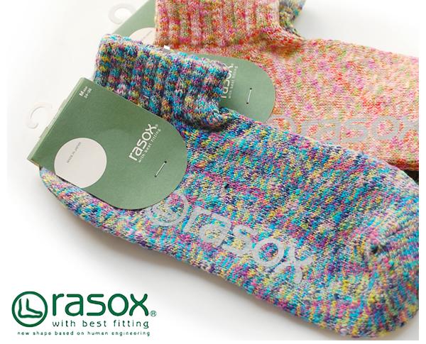 rasox ラソックス  スプラッシュ ロウ ソックス 靴下 スニーカーソックス アンクルソックス