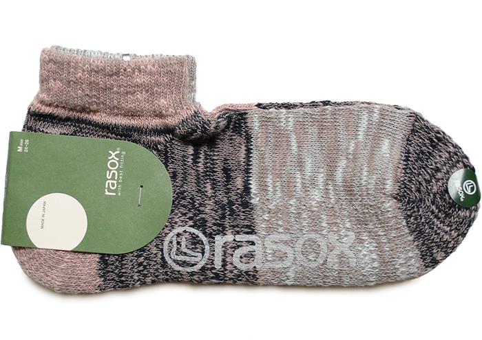 rasox ラソックス ミスマッチ ロウ ソックス ショート 靴下