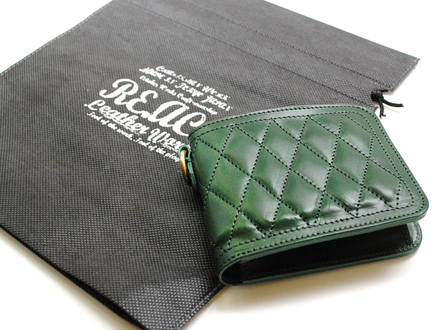 RE.ACT リアクト  QUILTING BASIC WALLET  キルティング ベーシック ウォレット レザー 財布