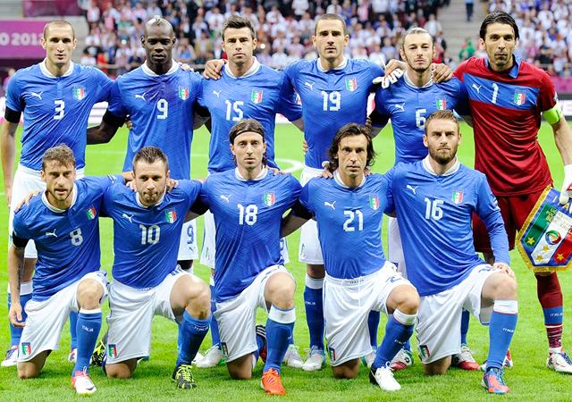 ユーロ2012 イタリア代表 バロテッリ メンバー