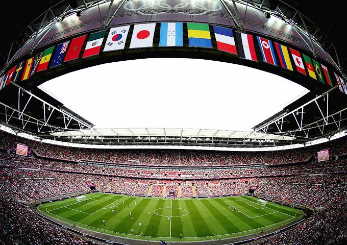 ウェンブリー スタジアム イングランド サッカーの聖地 聖地 オリンピック ロンドンオリンピック サッカー 日本代表