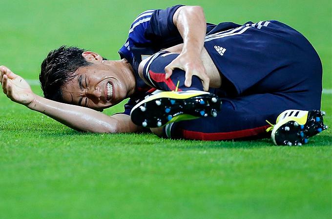 日本代表 サッカー 日本 vs ベネズエラ 香川真司 本田圭佑 遠藤保仁 長谷部誠 吉田麻也 長友佑都