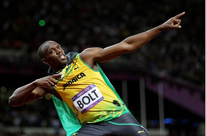 ロンドン五輪 オリンピック 2012 ウサイン・ボルト  画像 写真 金メダル 銅メダル 世界新記録 ボルト