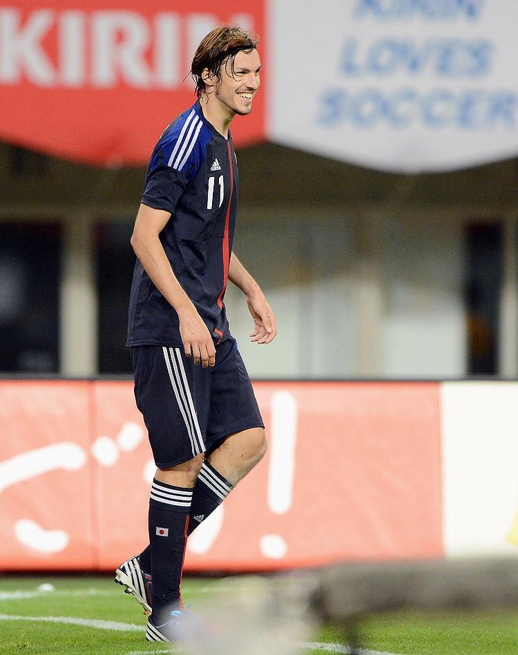 日本代表 サッカー W杯 清武 香川 本田 遠藤 ハーフナーマイク 岡崎 吉田