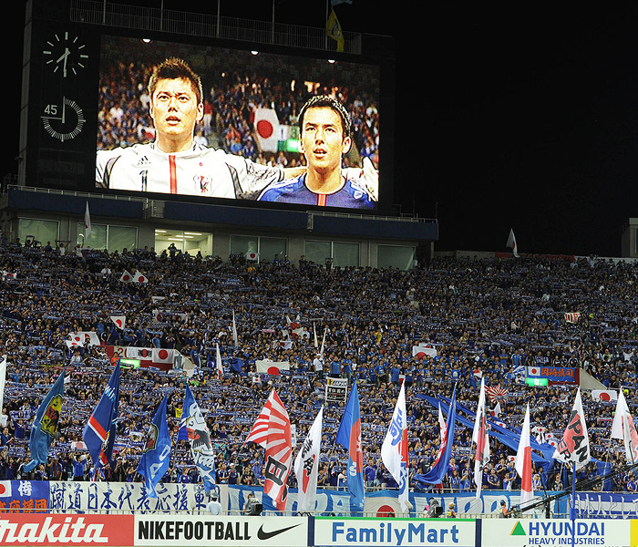 日本代表 サッカー W杯 清武 香川 本田 遠藤 ハーフナーマイク 岡崎 吉田 画像 写真
