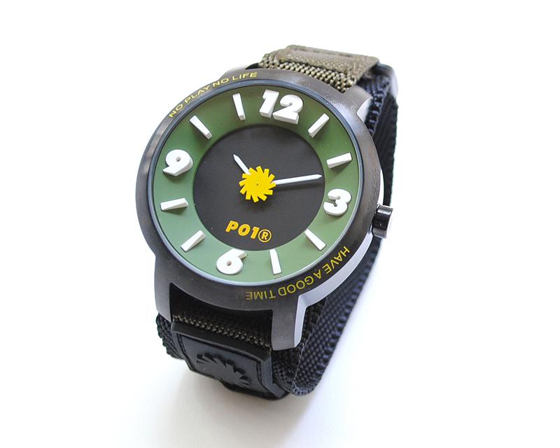 P01 TECHNICAL WATCH プレイ PLAYDESIGN プレイデザイン 時計 デジタル アナログ
