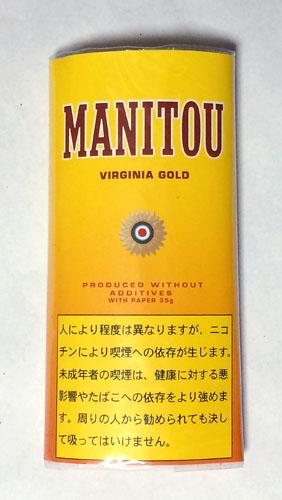 MANITOU_GOLDENSHAG MANITOU マニトウ・ゴールデンシャグ マニトウ バージニアブレンド 無添加 手巻きタバコ シャグ RYO