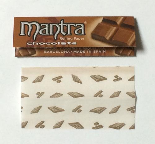 mantra_chocolate, mantra, マントラ・チョコレート マントラ 手巻きタバコ 巻紙 ローリングペーパー RYO