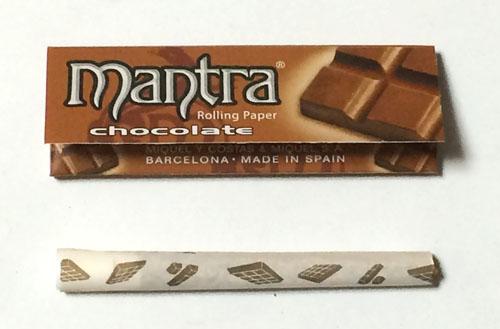 mantra_chocolate, mantra, smoking, マントラ・チョコレート マントラ スモーキング手巻きタバコ 巻紙 ローリングペーパー RYO