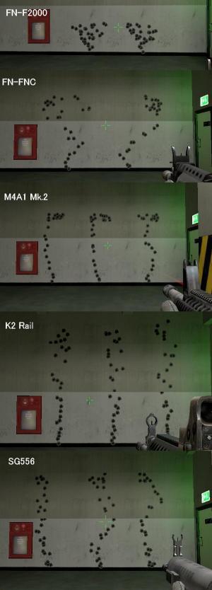 F2000+4種壁撃ち