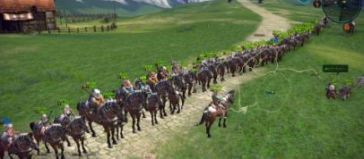 ずらり馬1