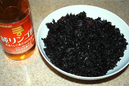 シソ酢作り方-8