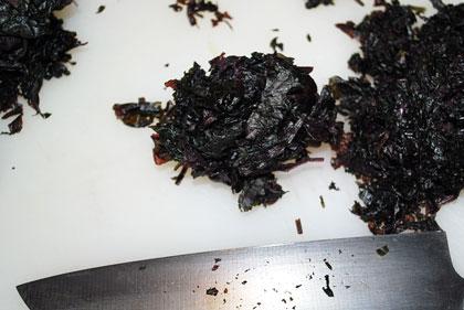 シソ酢作り方-6