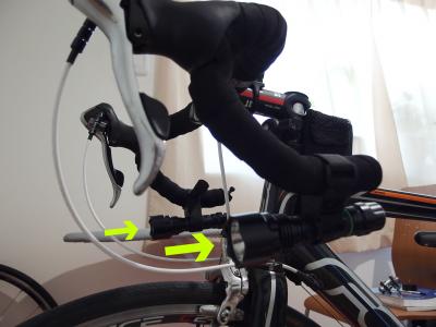 ブルベ用自転車ライト装備のおすすめは18650!