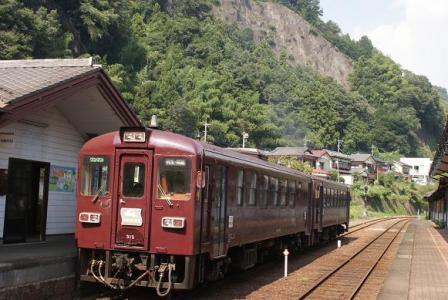 わたらせ② 019水沼駅の列車
