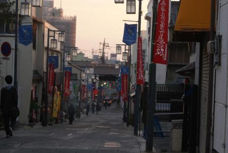 法華経寺参堂