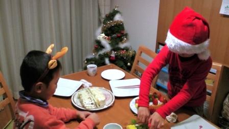 家族でクリスマス2013 2