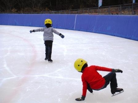 恵那スケート場4