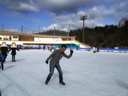 恵那スケート場3