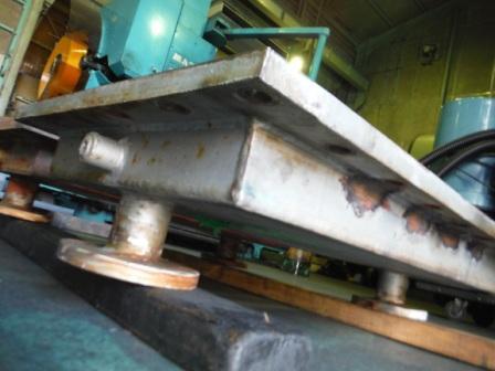1冷却機仕切り壁切削加工5
