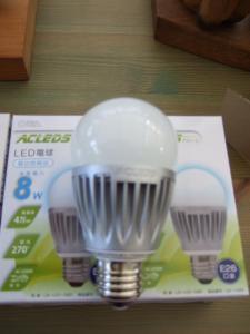 LED電球です。