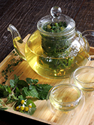 fresh herbal tea 125B
