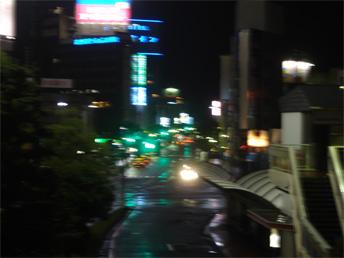 台風12号 倉敷通過中