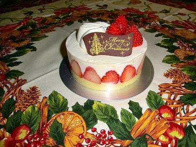 2011.12.24クリスマスケーキ