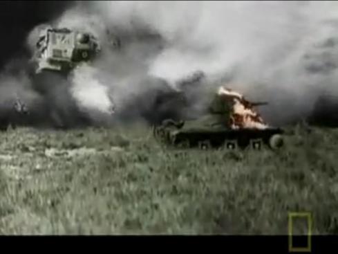 フランス戦車爆破