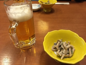 花寿司3 ビール