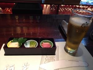 酒菜一 ビール