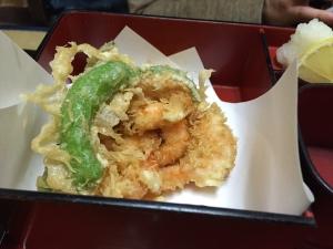 久司1 天ぷらアップ