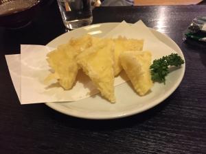 銀次郎 チーズ天ぷら