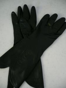 黒いグローブ