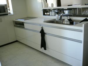 キッチン側